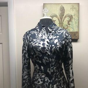 Escada ~ Long Sleeve Silk Shirt